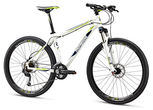 Mongoose Men's TYAX Expert Mountain Bicycle, White, 16