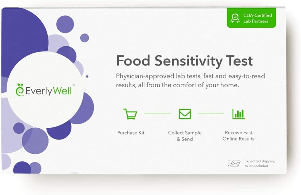 Everlywell famous Food Sensitivity 96 Foods - Max 59% OFF