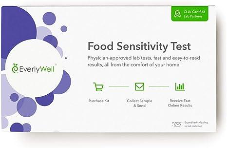 Amazon Com Everlywell Food Sensitivity Test At Home Clia