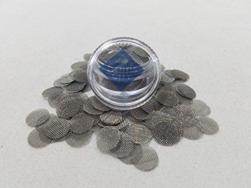 SAMSCITY-Quality-Steel-screens-75x-count-38-inch-375-in-diameter-W-FREE-Jar