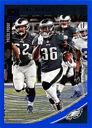 2018 Donruss Press Proof Blue Football  231 Jay Ajayi Philadelphia Eagles 1e6c978e1