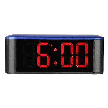 Reloj Despertador RTMN Reloj Digital Reloj Despertador Espejo ...