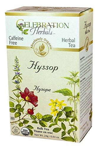 Celebration Herbals Organic Hyssop Caffeine