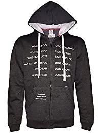 Unisex Dog Codependent Zip Hoodie - Great Gift for Dog Lovers