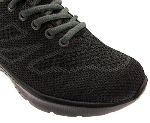 PE4K L10-S310A Sneaker Nera Grigio Plantare Memory Form 38 Nero