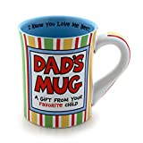 "Best Enesco Dad Mugs - Our Name is Mud ""Dad's Mug"" Stoneware Mug Review"