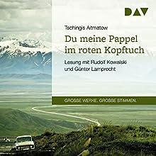 Du meine Pappel im roten Kopftuch Hörbuch von Tschingis Aitmatow Gesprochen von: Rudolf Kowalski, Günter Lamprecht