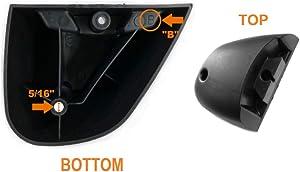 Shop Vac 8568010 Left Caster Foot Type B