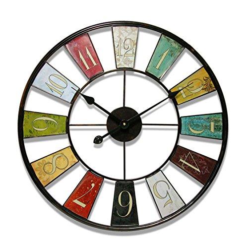 Infinity Instruments Kaleidoscope Wall Clock, 24-Inch