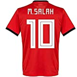2018 Russia World Cup #10 M Salah Egypt National Team Mens Soccer Jersey Red Size XL