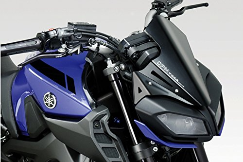 De Pretto Moto Accessories Easy to Install Yamaha MT09 FZ09 2017 Kit Rear Hugger DPM Matte Black Aluminium Mudguard Fender - 100/% Made in Italy