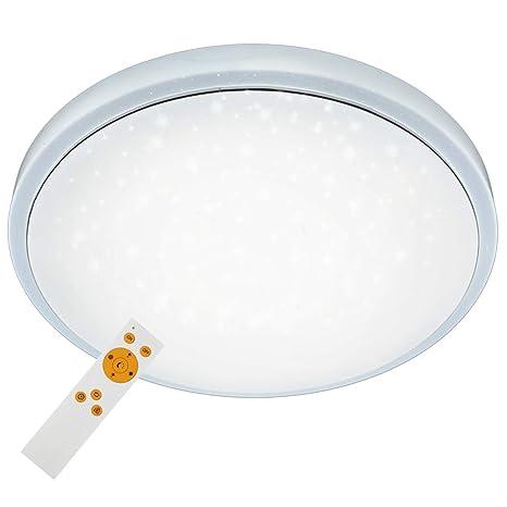Briloner Leuchten Lámpara de techo, regulable, regulable en ...