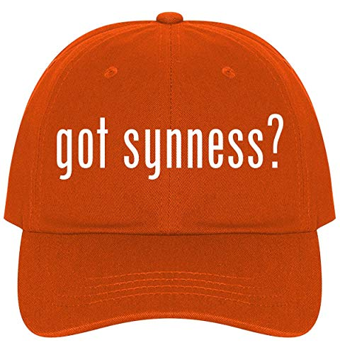 The Town Butler got Synness? - A Nice Comfortable Adjustable Dad Hat Cap, Orange