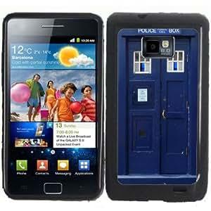 S2 Tardis Police Call Box Samsung Galaxy S2 / SII i9100 Case Cover