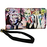 Marilyn Monroe Colorful Collage Wallet with