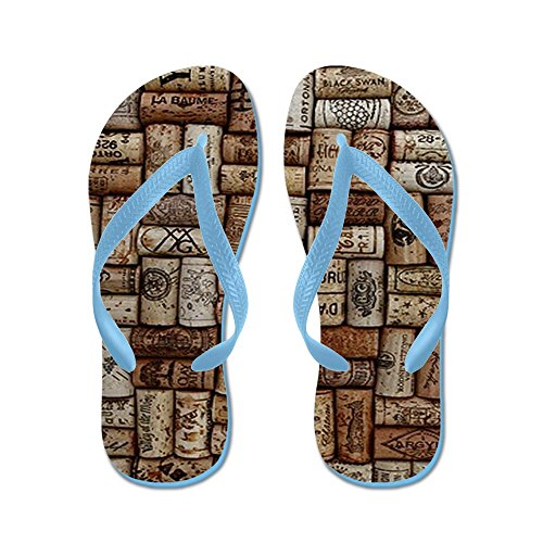 CafePress - Corks - Flip Flops, Funny Thong Sandals, Beach Sandals