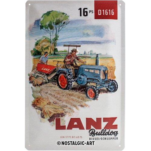 Nostalgic-Art 22259 Arlequin Lanz diésel de vehículos ...