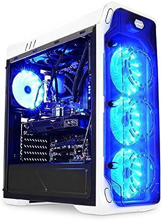 LC-Power Gaming 988W - Blue Typhoon Midi-Tower Blanco - Caja de ...