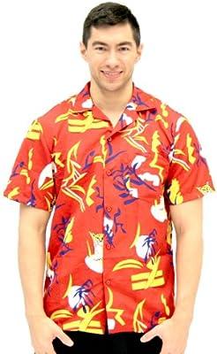 Disfraz de agente de Scarface Tony Montana hawaiano con botones ...