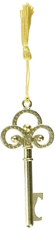 Gold vintage skeleton key bottle opener from fashioncraft