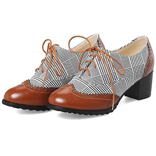 Femme 9600 De Reece Lacets Noir Justin Chaussures Ville À Pour wvqHA476