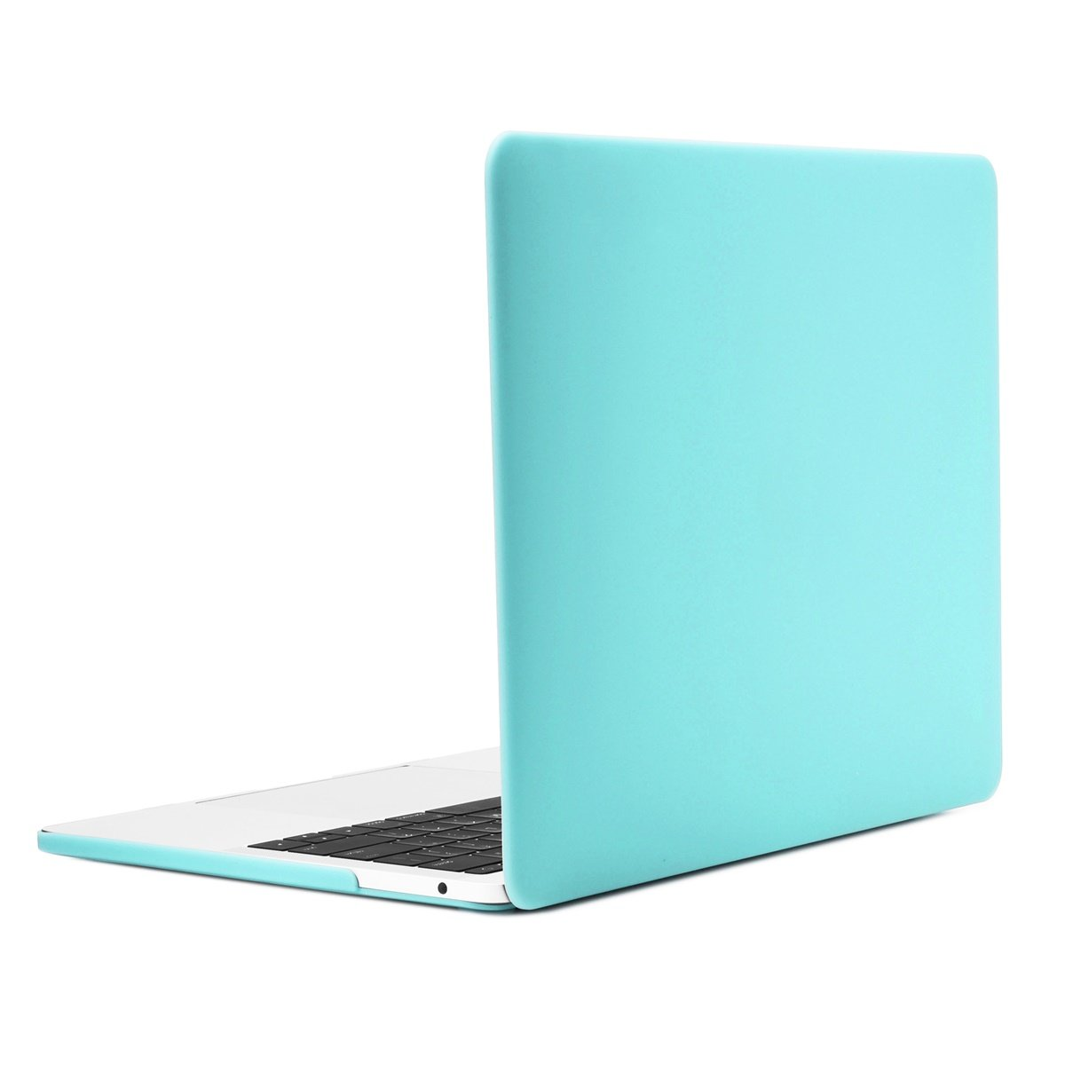 TOP CASE - Essential 2 in 1 Rubberized Hard Case + Leather Sleeve Bag Compatiable with MacBook Pro 13-inch A1989,A1706 with Touch Bar/A1708 Without Touch Bar(Release 2017,2016,2018)- Hot Blue by TOP CASE (Image #5)