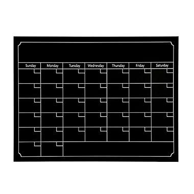 Kanzd Dry Erase Monthly refrigerator Planner Magnetic Calendar Chalkboard For Kitchen Fridge