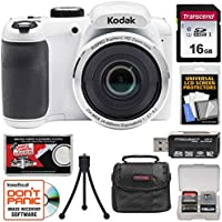 KODAK PIXPRO AZ252 Astro Zoom Digital Camera (White) with...
