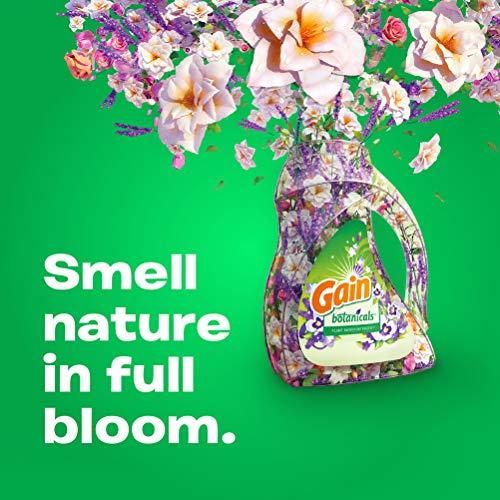 Gain Plant Laundry Detergent, & Lavender, 50 80 Ounces 2