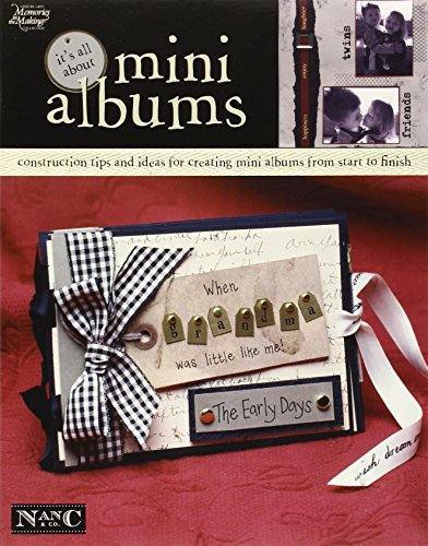 It's All About Mini Albums  (Leisure Arts #3731) (Memories in the Making ()