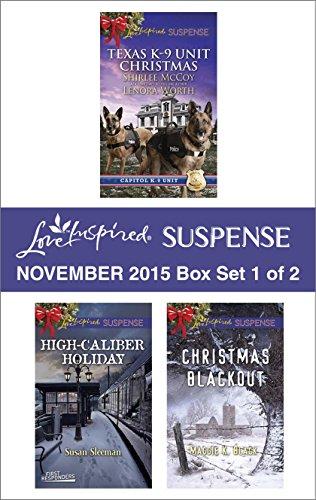 book cover of Love Inspired Suspense November 2015 - Box Set 1 of 2