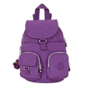 Kipling Women's Lovebug Small Backpack One Size Purple Feather