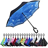 G4Free Double Layer Inverted Umbrella Cars Reverse...