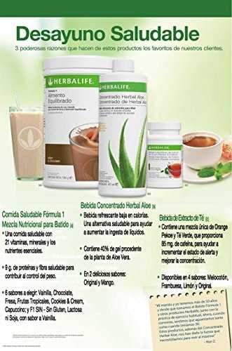 HERBALIFE Paquete Pérdida de Peso MEDIO (Chocolate): Amazon.es: Salud y cuidado personal