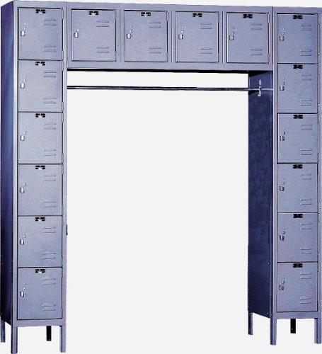 Hallowell U1788-16A-HG Premium Locker, 72