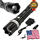 Military Grade Tactical Police SWAT Heavy Duty 3W LED Rechargeable Flashlight