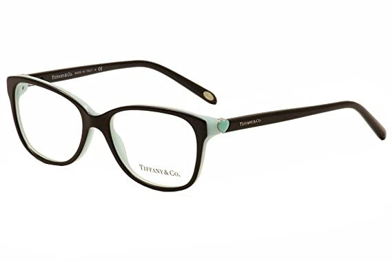 Tiffany & Co. Brillen Für Frau 2122 8134, Tortoise / Blue Kunststoffgestell, 52mm