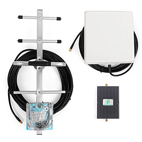 65dB Verizon Signal Booster 4G 700 mhz LTE Yagi Antenna Amplifier with Indoor Directional Antenna and Yagi Antenna by PROUTONE