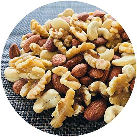 厳選3種類のミックスナッツ(アーモンド・クルミ・カシューナッツ) 100g 無添加・無塩・無油