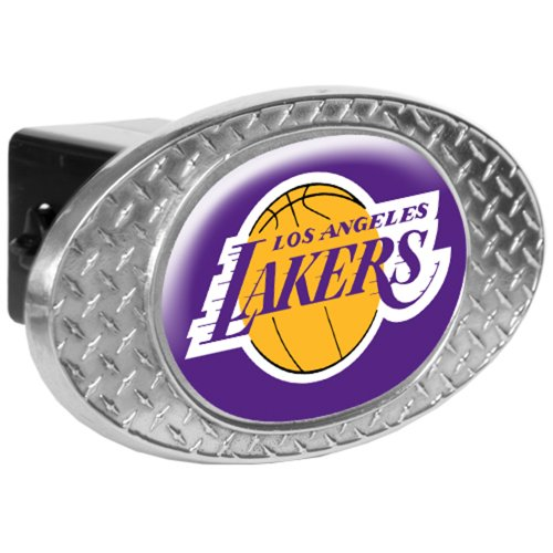 - NBA Los Angeles Lakers Metal Diamond Plate Trailer Hitch Cover