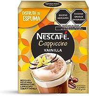 Nescafe Cappuccino Vainilla 6 Sobres, 132 gr