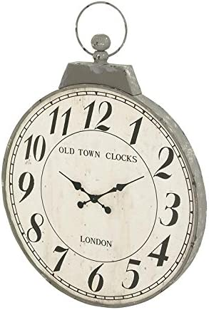 Deco 79 93828 Metal Wall Clock