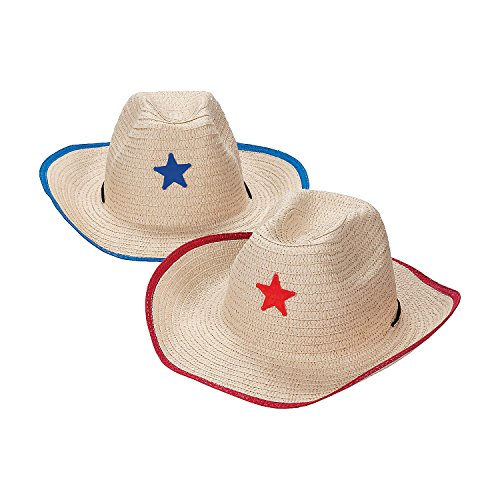 Adult's Cowboy Hats with Star -