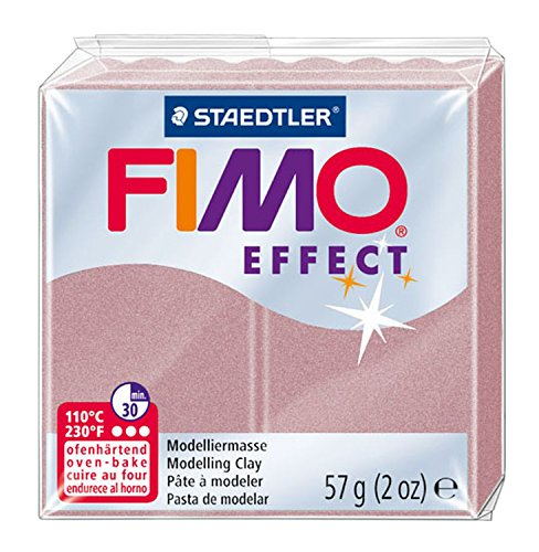 - Staedtler 8020-207 2 oz Rose Pearl Fimo Effect Polymer Clay