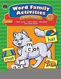 Word Family Activities: Short Vowels Grd K-1 [Paperback] [2008] (Author) Mayra Saenz-Ulloa, Franka Rodriguez, Sabrina Mastromarco