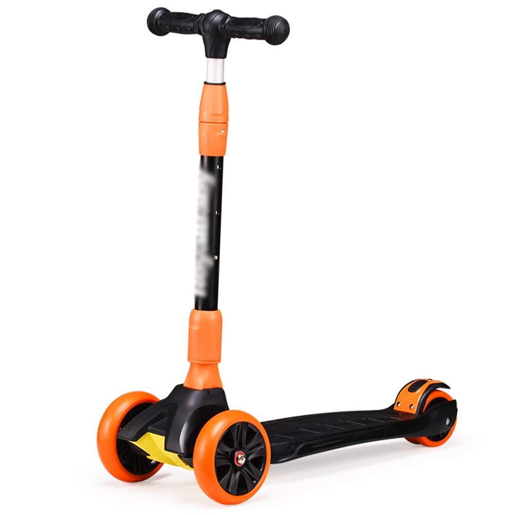 本物 キックスクーター三輪車スケートボードペダル式乗用スタントスクーター調節可能な折りたたみTバーハンドルLEDライトアップホイール付き B07H99KQ31 黒 黒 B07H99KQ31 黒 黒, COBEAMISHOP:2a224c37 --- a0267596.xsph.ru