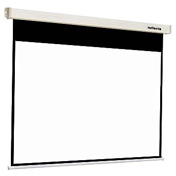 Reflecta Crystal-Line Rollo lux 160 x 160 1:1 Negro, Color blanco ...