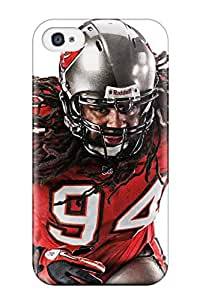 Fashion Tpu Case For Iphone 4/4s- Tampaayuccaneers Defender Case Cover
