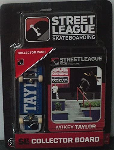 Street League Skateboarding Pro Series 1 Blue Skateboard /& Mikey Taylor Collecto