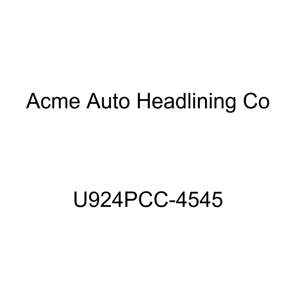 Acme U924PCC-4545 Front and Rear Maroon Vinyl Bench Seat Upholstery
